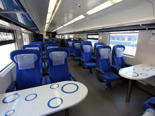 Поїзд Інтерсіті / Фото ілюстративне