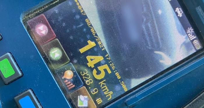 Ковельські патрульні зафіксували водія, який їхав на великій швидкості
