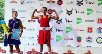 Волинянка стала чемпіонкою України з боксу