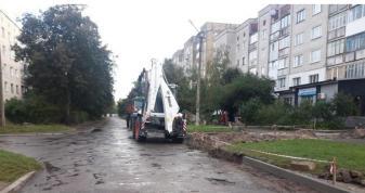 На Заводській у Ковелі розпочали ремонт вулиці