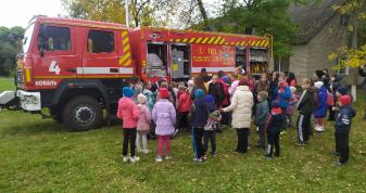 У Колодяжненській громаді відбувся огляд-конкурс серед загонів пожежної охорони