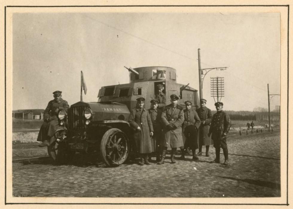 Німецькі офіцери, 1918 р.