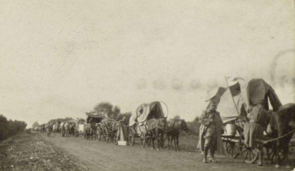 Дорогою до Ковеля, 1915 р.