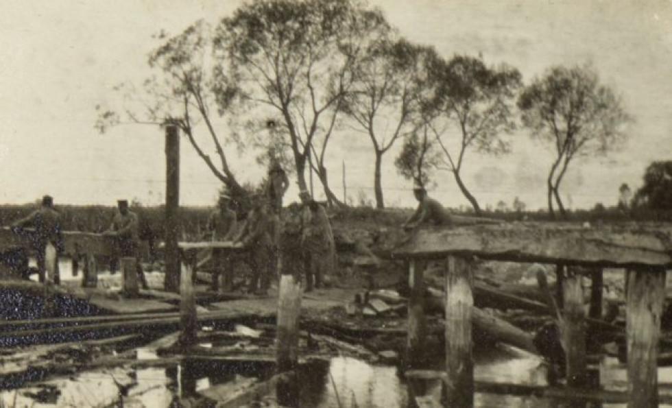 Річка Стохід, Ковельщина, 1915 р.