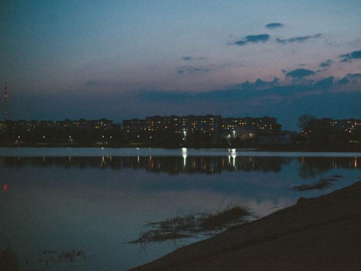 Весняний нічний Ковель на світлинах фотографині Ірини