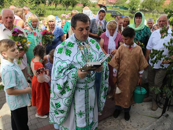 Святкування Трійці у храмах на Ковельщині. ФОТО