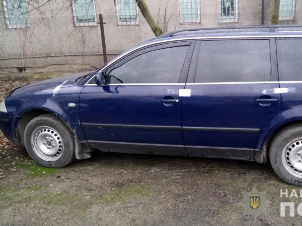 У Ковелі виявили автомобіль з підробленими номерами