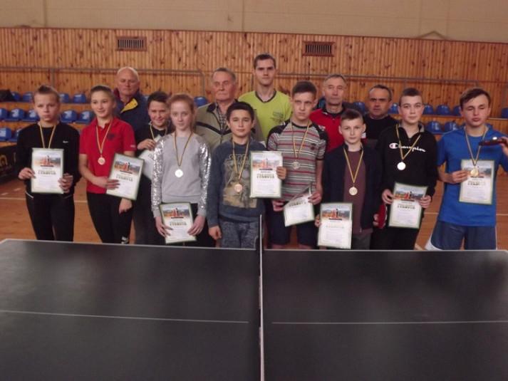 У Ковелі відбулися змагання з настільного тенісу