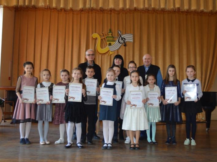 У Ковелі відбувся конкурс юних скрипалів та віолончелістів