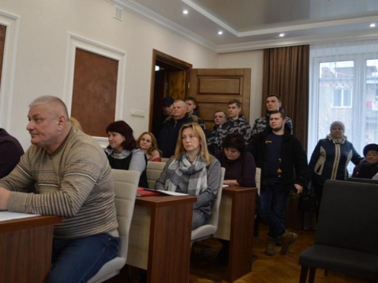 Представники «Національного Корпусу» 14 лютого на слуханні про підвищення тарифів на комунальні послуги