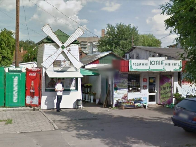 Квітковий ринок на вулиці Театральній