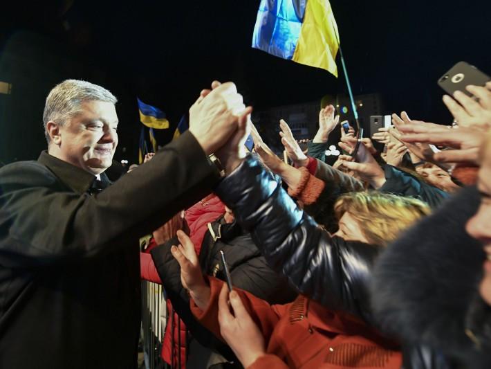 Петро Порошенко у Ковелі