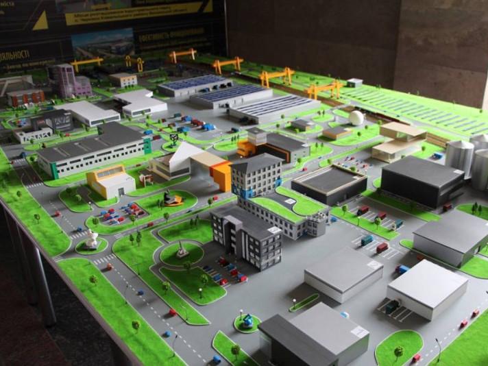 На Раді регіонального розвитку представили макет індустріального парку «Ковель»