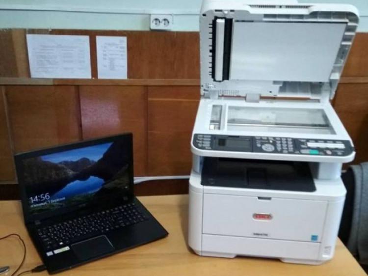 Для Голобської громади закупили комп'ютерну техніку