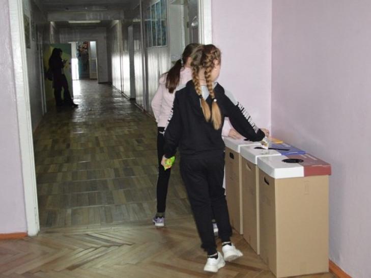 У двох школах Ковеля стартував проект з сортування сміття