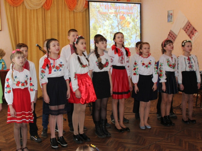 Уховецьк: відбувся концерт до 75 річниці визволення села від німецьких загарбників