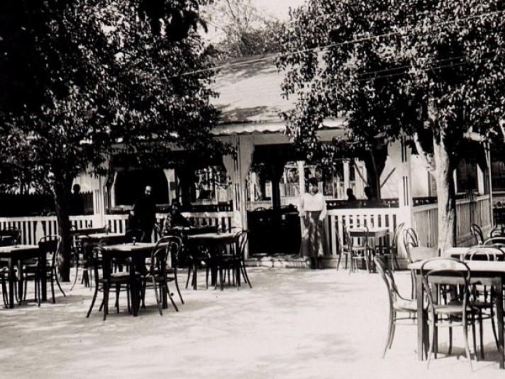 Фасад кафе в Ковелі