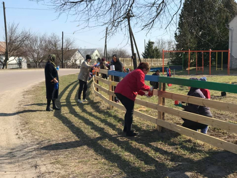У селі Сільце відкриють дитячий майданчик