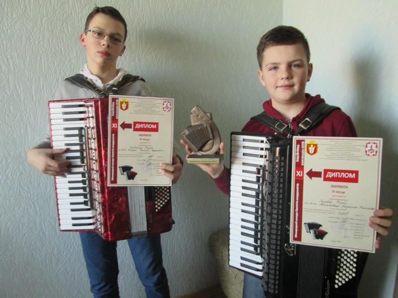 Філіп Головій та Назар Солов'янчук