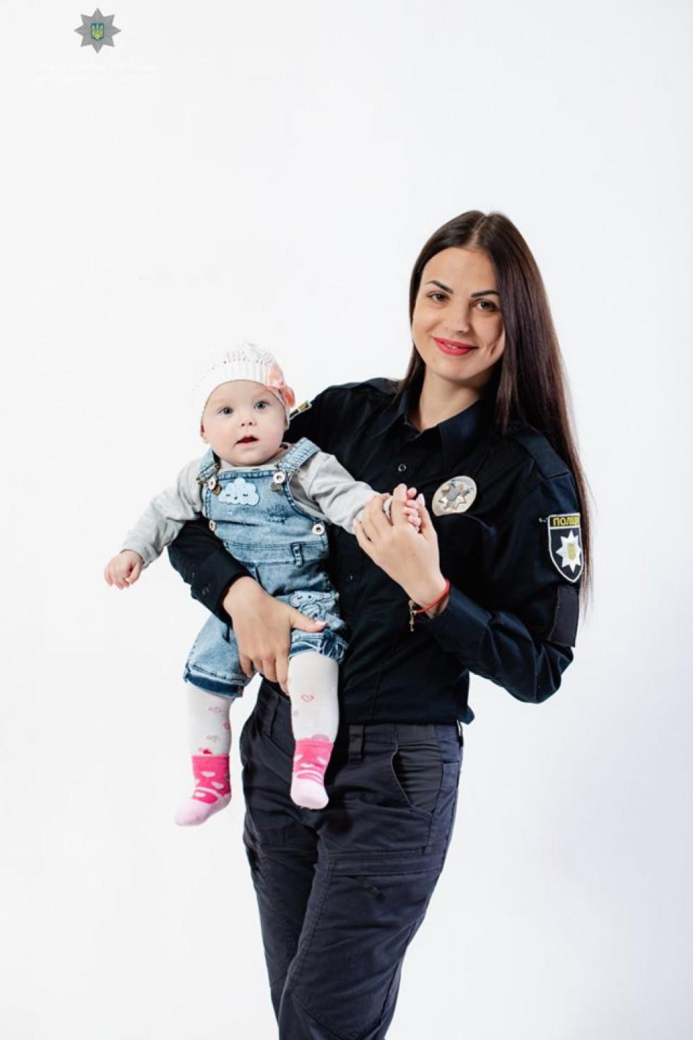 Оксана Грек з донькою