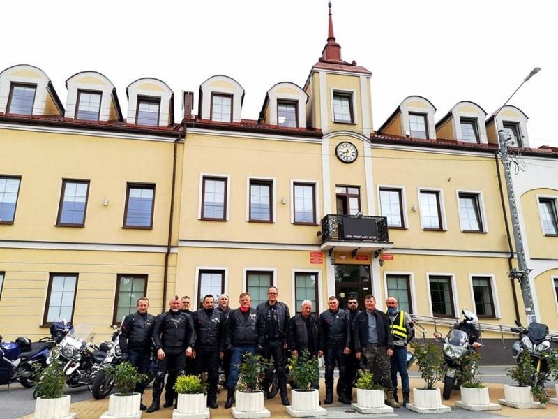 Польські і білоруські байкери відвідають Ковель