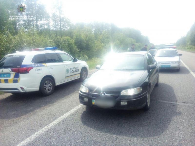 Затримали чоловіка, який на Турійщині викрав авто і їхав до Ковеля