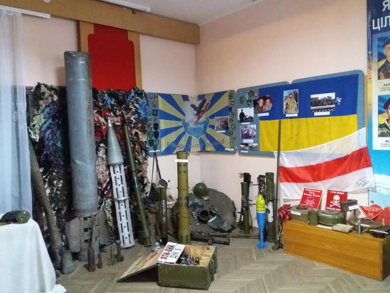 Ковельському музею передали «подарунки» війни зі Сходу України