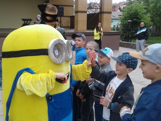 У Ковелі влаштували свято для дітей учасників АТО