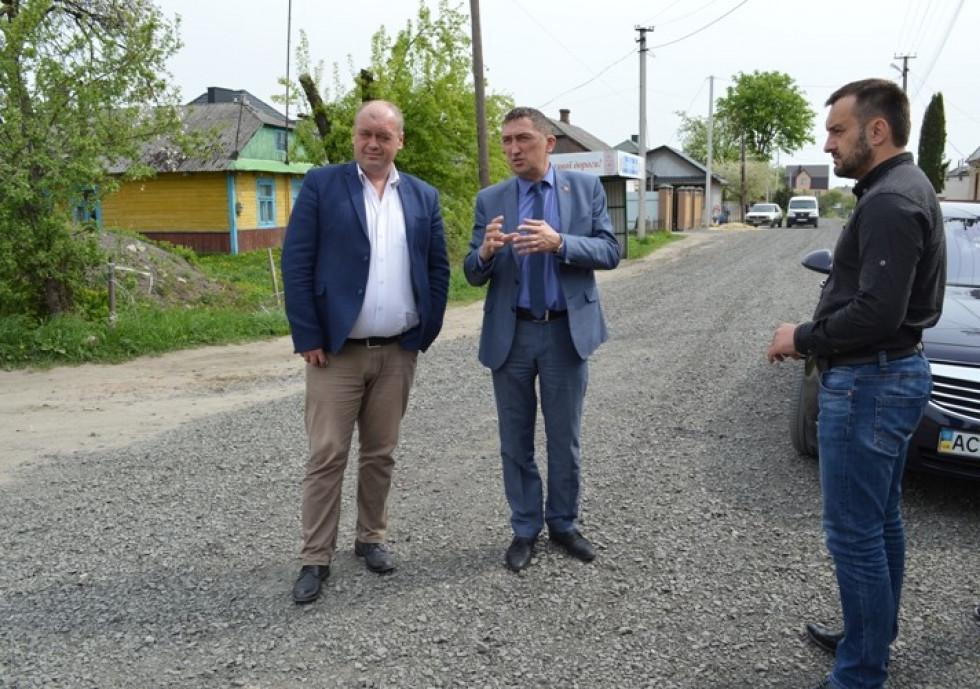 Андрій Стернічук, Олег Кіндер та Андрій Товстига