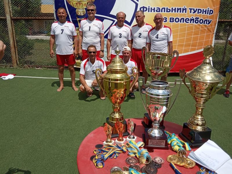 Поважні ковельські волейболісти зайняли шосте місце на Миколаївщині