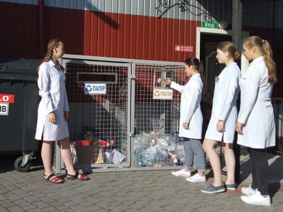 У Ковельському медичному коледжі розпочали сортувати сміття