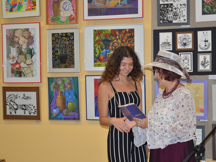 Ковельська художня школа завершила рік звітною виставкою
