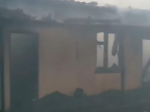 У Ковелі згорів гараж