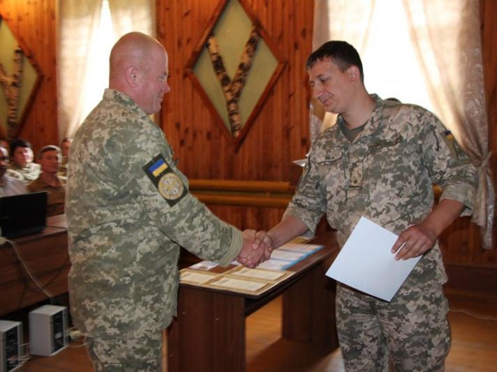 Поворська військова частина відзначила 65 річницю