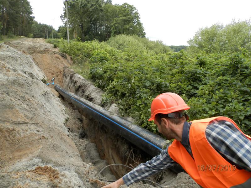 У Ковелі почали реконструкцію важливого для міста водогону