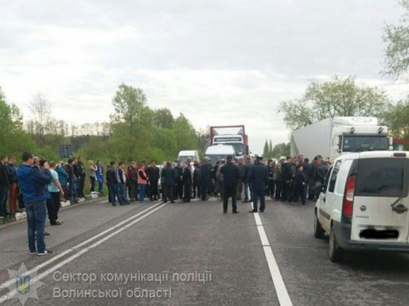 Влада на Ковельщині переконала селян не перекривати міжнародну автомагістраль / Фото ілюстративне