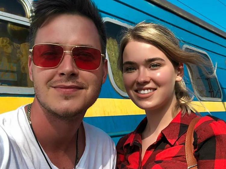 Аркадій Вотюк з сестрою Вікторією
