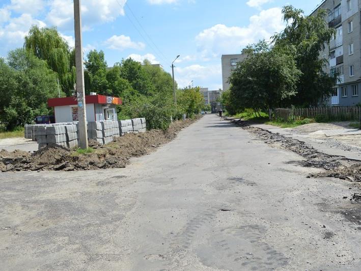 У Ковелі ремонтують дорогу, яка веде до школи №13