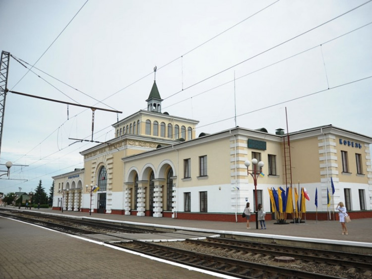 Вокзал у Ковелі