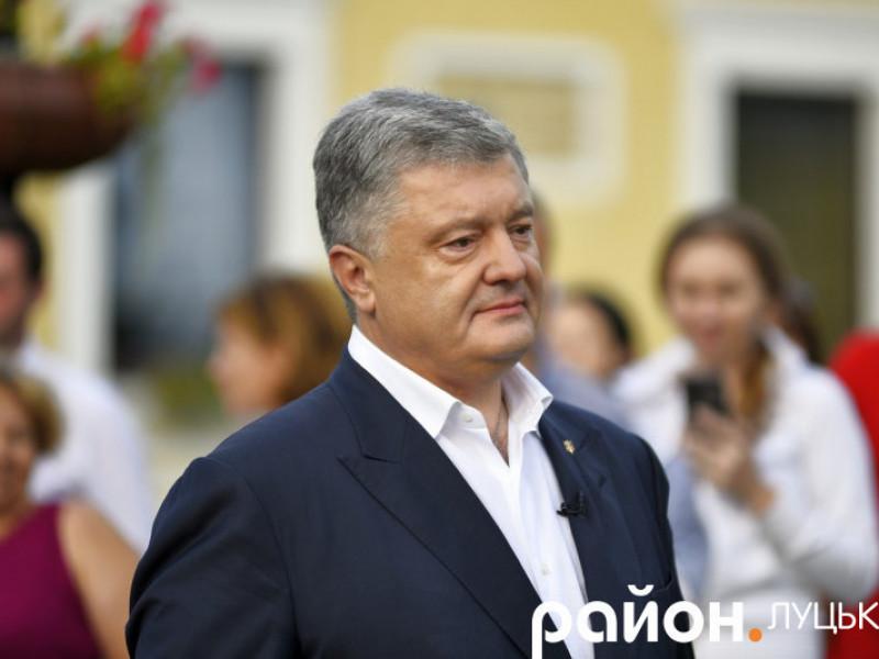 П'ятий президент України, лідер партії «Європейська Солідарність» Петро Порошенко