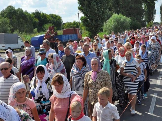 У Ковелі зустріли хресний хід до Почаївської Лаври