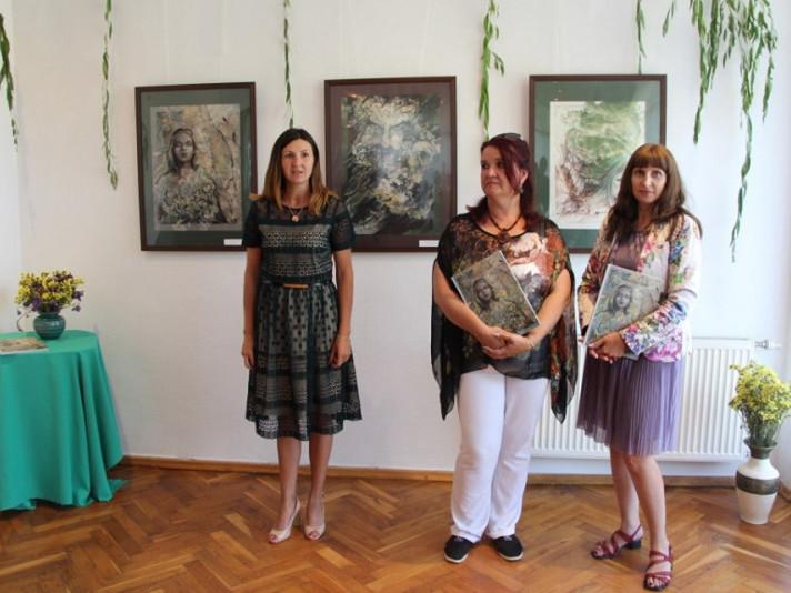 У Колодяжному відкрилася виставка ілюстрації до «Лісової пісні» Лесі Українки