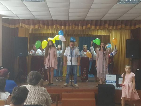 В Облапах відзначили День села