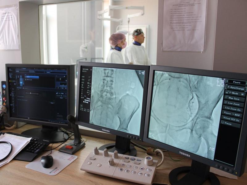 У Ковелі вперше провели операцію з емболізації маткових артерій без єдиного розрізу