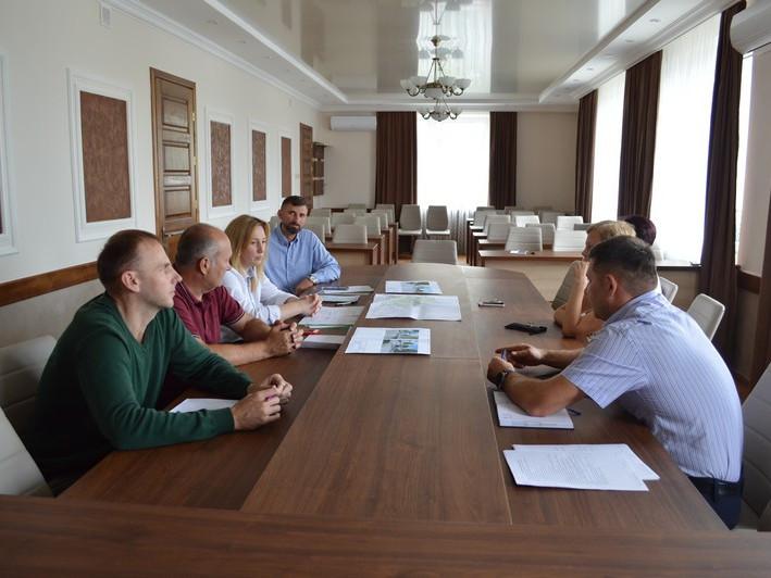 Архітектурно-містобудівна рада обговорила реконструкцію парку у центрі Ковеля