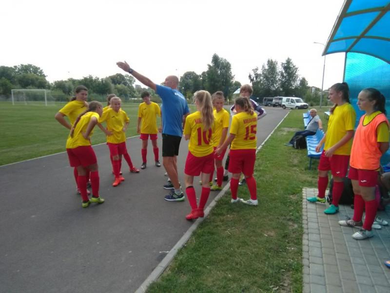 У Голобах стартував Чемпіонат України з футболу серед дівочих команд