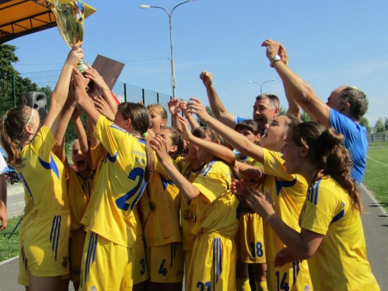 Житомирчанки стали чемпіонками України з футболу серед дівочих команд