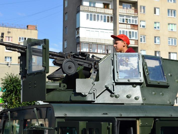 У Ковелі відбулася виставка десантно-штурмових військ