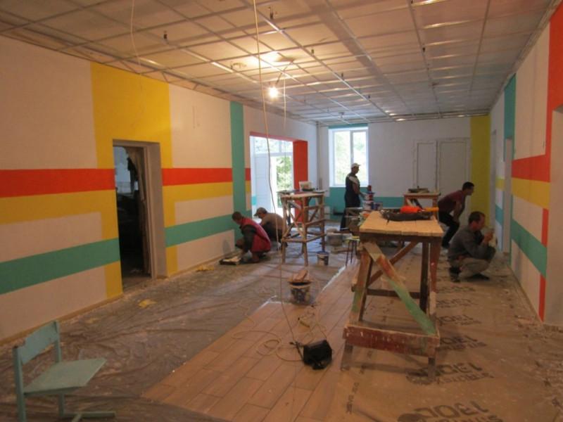 Дроздні, Тойкут, Зелена: у місцевих школах ремонтують перший поверх