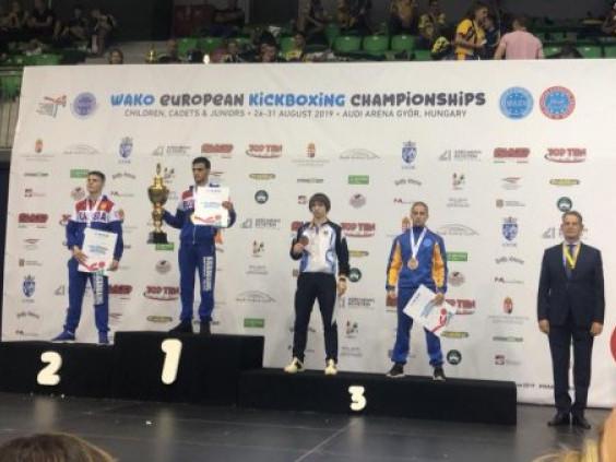 Ковельчанин Роман Кухта виборов бронзу на Чемпіонаті Європи з кікбоксингу WAKO